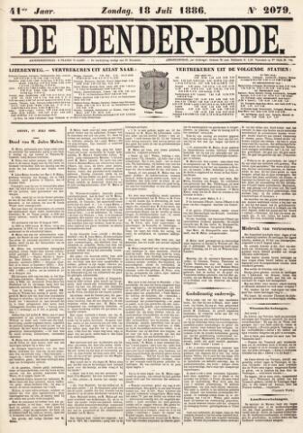 De Denderbode 1886-07-18