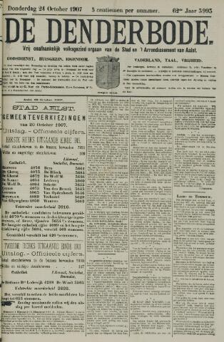 De Denderbode 1907-10-24
