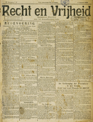 Recht en Vrijheid 1930