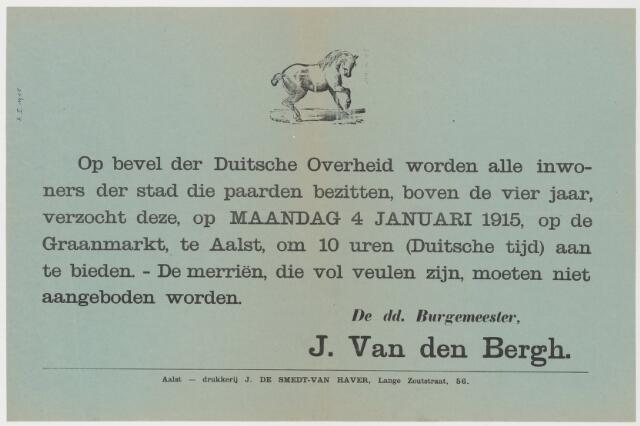 Tekstaffiches 1915