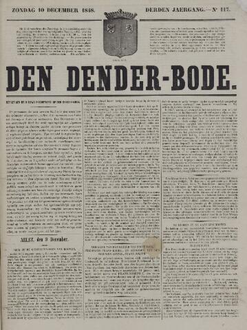 De Denderbode 1848-12-10