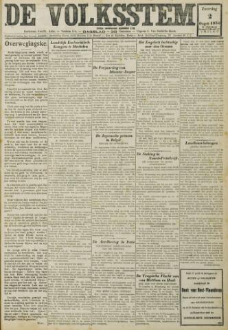De Volksstem 1930-08-02