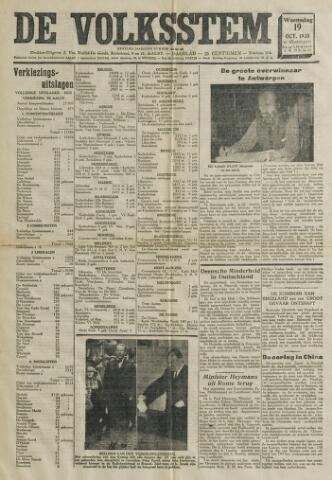 De Volksstem 1938-10-19