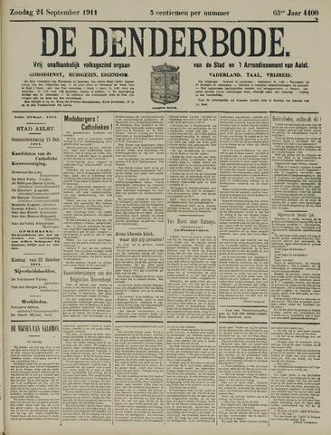 De Denderbode 1911-09-24