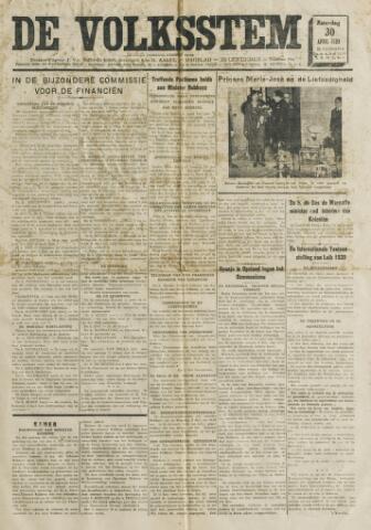 De Volksstem 1938-04-30