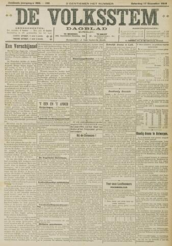 De Volksstem 1910-12-17