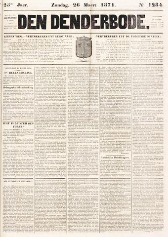 De Denderbode 1871-03-26