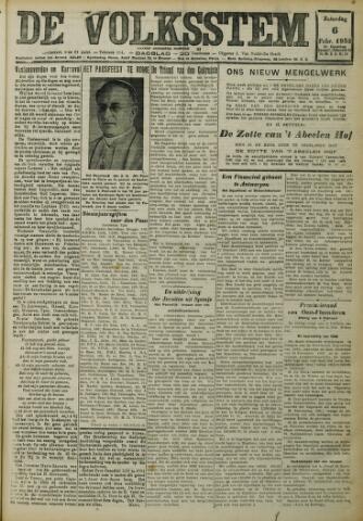 De Volksstem 1932-02-06
