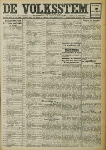 De Volksstem 1926-04-10