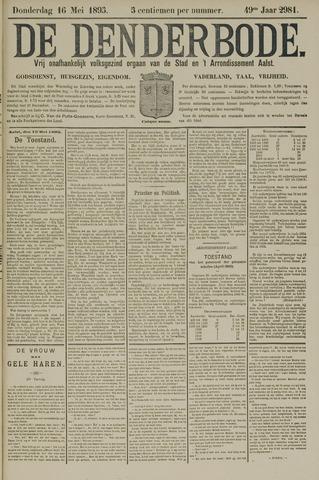 De Denderbode 1895-05-16