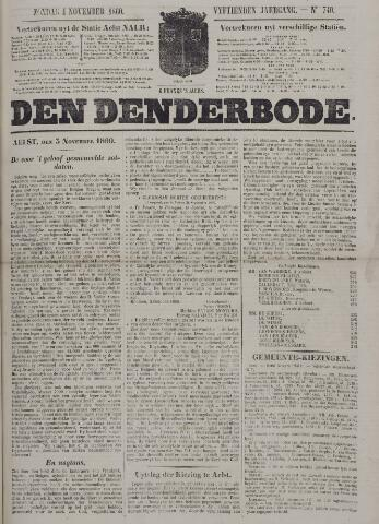 De Denderbode 1860-11-04