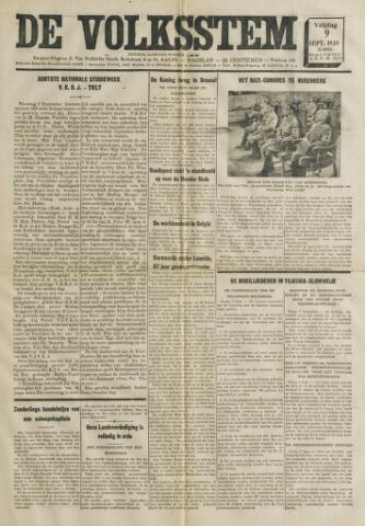 De Volksstem 1938-09-09