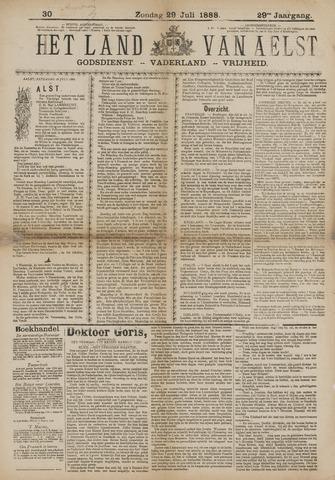 Het Land van Aelst 1888-07-29