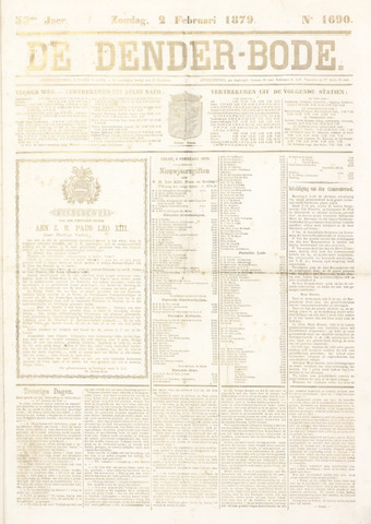 De Denderbode 1879-02-02