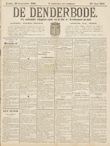 De Denderbode 1901-09-29