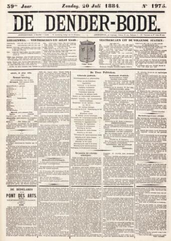 De Denderbode 1884-07-20