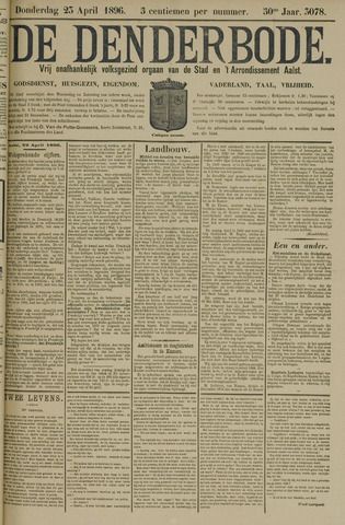 De Denderbode 1896-04-23