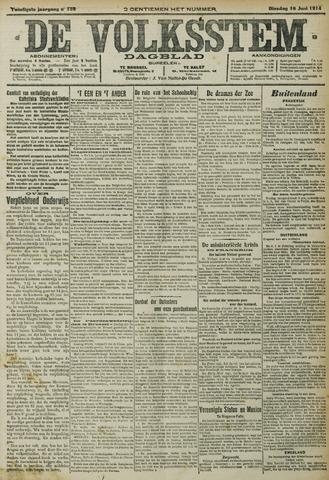 De Volksstem 1914-06-16