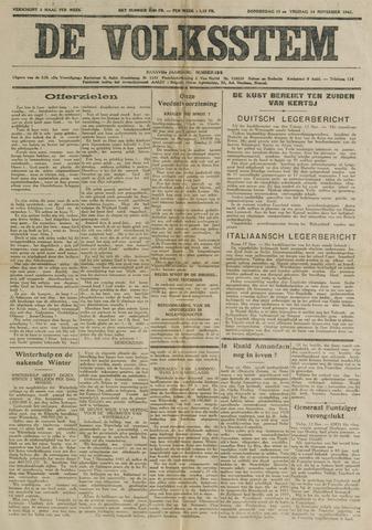 De Volksstem 1941-11-13