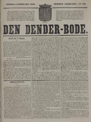 De Denderbode 1850-02-03