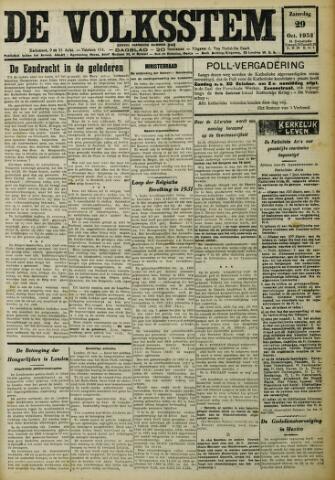 De Volksstem 1932-10-29