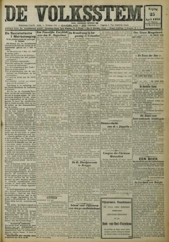 De Volksstem 1930-04-25