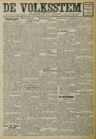 De Volksstem 1926-01-10