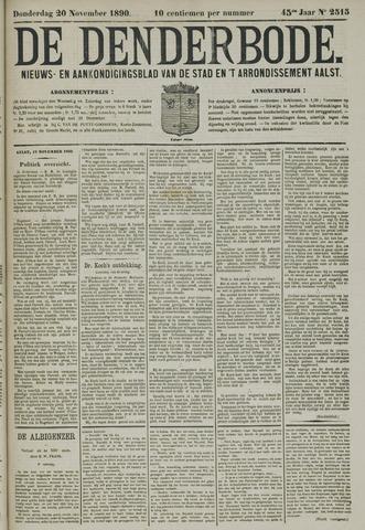 De Denderbode 1890-11-20