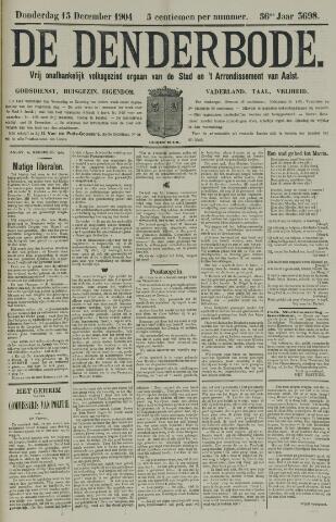 De Denderbode 1904-12-15