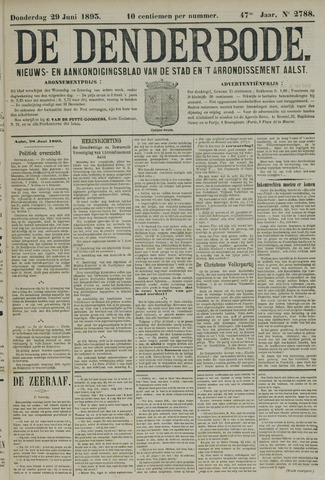 De Denderbode 1893-06-29