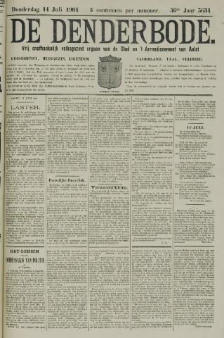 De Denderbode 1904-07-14