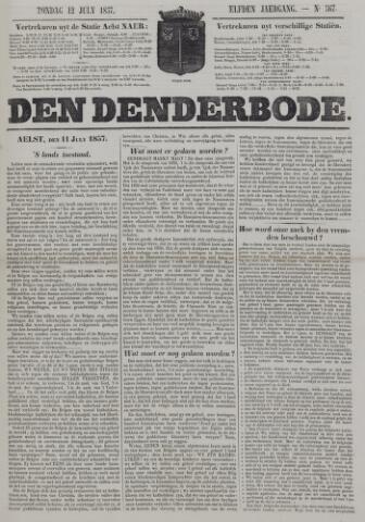 De Denderbode 1857-07-12