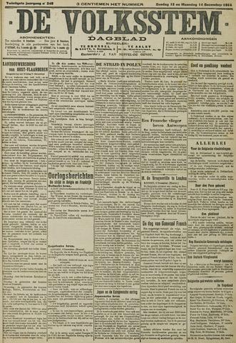 De Volksstem 1914-12-13