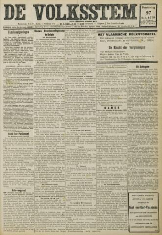 De Volksstem 1930-11-27