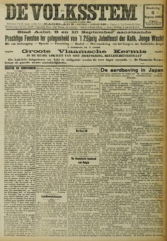 De Volksstem 1923-09-06