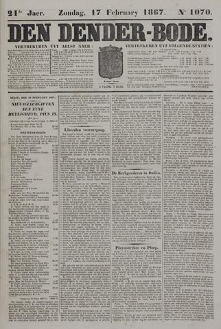 De Denderbode 1867-02-17