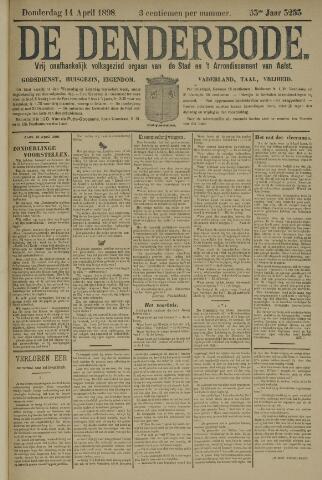 De Denderbode 1898-04-14