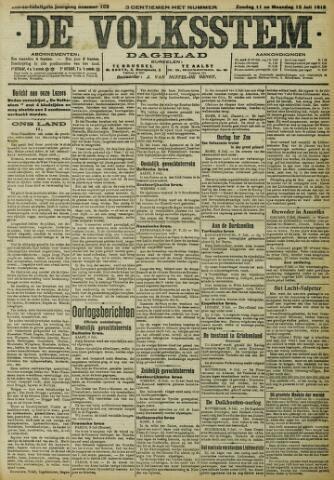 De Volksstem 1915-07-11