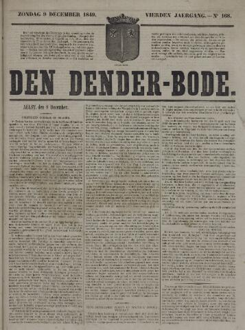 De Denderbode 1849-12-09