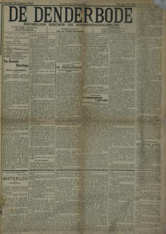 De Denderbode 1918-01-20