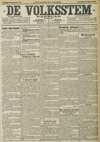 De Volksstem 1914-03-21