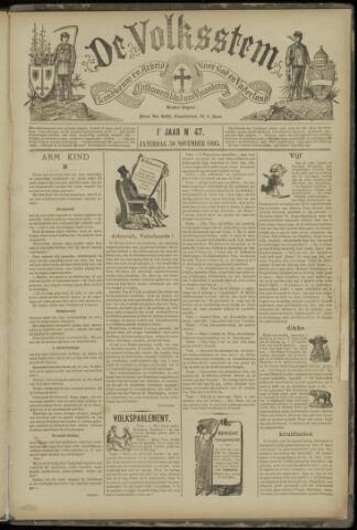 De Volksstem 1895-11-30