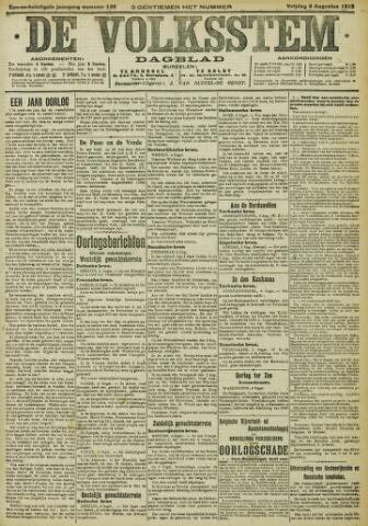 De Volksstem 1915-08-06