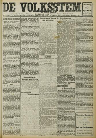 De Volksstem 1930-04-10