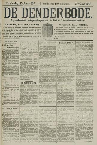 De Denderbode 1907-06-13