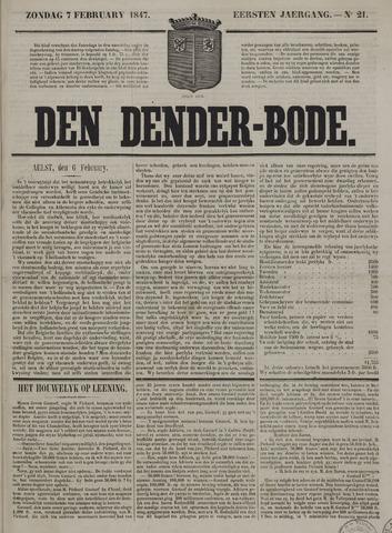 De Denderbode 1847-02-07