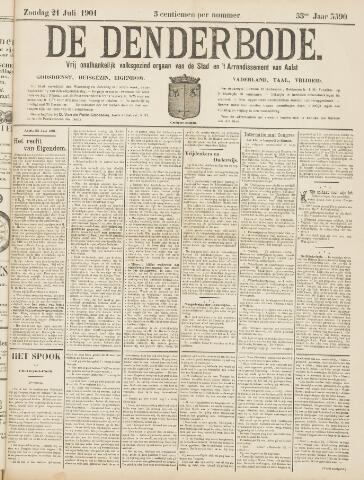 De Denderbode 1901-07-21