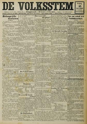 De Volksstem 1926-07-23
