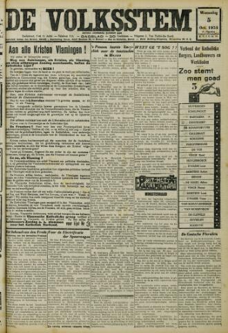 De Volksstem 1932-10-05