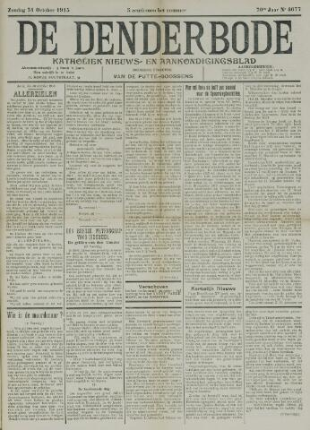 De Denderbode 1915-10-31
